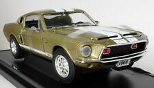 Road Signature 1/18 Scale 92168 1968 Shelby GT-500 KR Met Gold Diecast Model Car