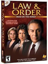 Law & Order: Dead on the Money video game for Mac OS