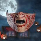 Reusable Halloween Face Mask Freddy Krueger Horror Movie| Cloth Face Mask