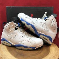 Nike Air Jordan Retro VI Sport Blue Royal 384664 107 SZ 11.5 Carmine Varsity IV
