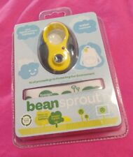 Bean Sprout Mini Digital Camera Water Resistant Lithium Ion Rechargeable Yellow