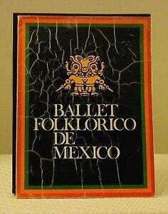 Ballet Folklorico de Mexico, 1975 Program Book