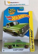 '83 Chevy Silverado #136 * Green Kmart * 2014 Hot Wheels * H15