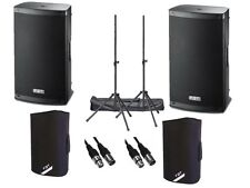 "2 x FBT Xlite 15 A Active 2000 W 15"" alimentato Altoparlante DJ Disco PA Sound System"