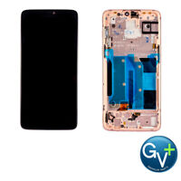 """AMOLED Digitizer Screen Frame Assembly for White OnePlus 6 A6000 A6003 6.28"""""""