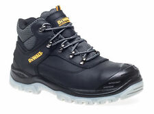 DeWALT Laser S1P black steel toe safety boot with midsole & bump-cap size 6-12
