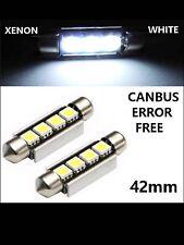 VW Transporter T5 SMD/X2 LED Posteriore Kit di illuminazione interna-Bright LED bianchi fresco,