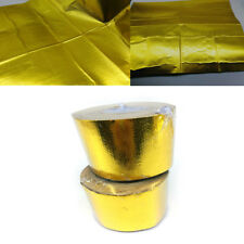 Reflective Gold Heat Shield Insulation Tape For Thermal Racing Engine Hot Sale