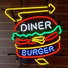 Neon Signs Diner Burger Beer Bar Pub Store Restaurant Wall Decor 24X20