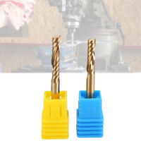 17mm/22mm Titanized End Milling Cutter Flute Spiral Bit Length for