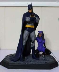 Batman Catwoman resin model kit Neal Adams style rare 1 of 10 castings dc comic