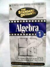 The Standard Deviants' present ALGEBRA Part 1 (VHS)