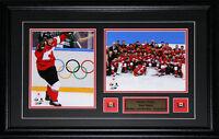 Sidney Crosby 2014 Team Canada Hockey Sochi Gold Medal 2 Photo Collector Frame