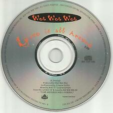WET WET WET Love is all around 1994 PROMO DJ CD single THE TROGGS Remake cover