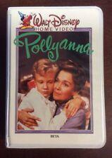 Walt Disney Polyanna Betamax Disney Movies