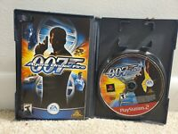 007 Agent Under Fire -  Sony Playstation 2 PS2 Complete W/Manual Tested
