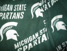 MICHIGAN STATE SPARTANS FLEECE PAJAMA PANTS Sparty Lounge Sleep Wear Adult LARGE