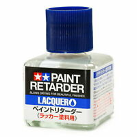 Tamiya Craft Tools #87198 Paint Retarder Lacquer (40ml) For Model Kit