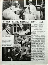 Every Home Should Have One Marty Feldman, Shelley Berman Film Articles 1970