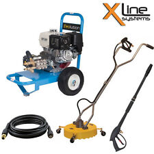 "Evolution 1 20LPM 200 Bar Pressure Washer + 18"" Whirlaway + Lance + 10mtr Hose"
