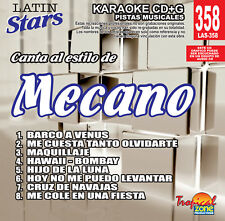 Karaoke Latin Stars 358 Mecano Vol.1