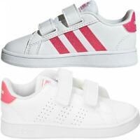 Adidas Girls Infants Trainers Advantage Grand Court Children's Shoes