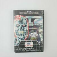 Terminator T2 The Arcade Game Sega Mega Drive game | PAL | Missing Manual