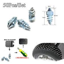 NEW 50Pcs/Set Car Vehicle Anti Slip Screw Stud Wheel Tire Snow Nail Spike Steel