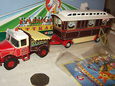 Corgi CC10705 Scammell Highwayman Ballast & Caravan for Harris's in 1:50 Scale.