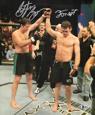 Forrest Griffin Stephan Bonnar Signed 11x14 Photo BAS COA UFC Ultimate Fighter 2