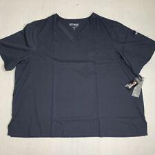 Grey's Anatomy Scrubs Mens 5XL Shirt Top Chest Arm Pocket Healthcare Worker