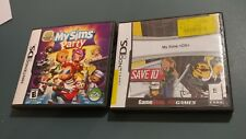 2  Nintendo DS games My Sims party and My Sims