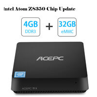 ACEPC Mini PC Model T11. Windows 10 Pro Intel Atom x5-Z8350 Processor 4GB RAM