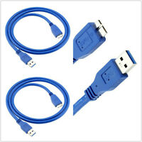 2xUSB 3.0 Lead Cable For WD Seagate Toshiba Samsung Portable External Hard Drive