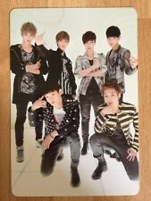 KPOP EXO-M Official MAMA Group Photocard