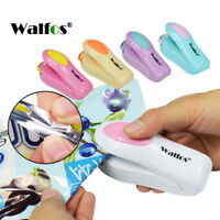 Portable Machine Vacuum Sealing Plastic Heat Bag WALFOS Mini Tools Sealing