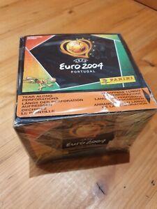 Panini EM 2004 Portugal - Display 50 Tüten, Rookie Ronaldo - Euro Original