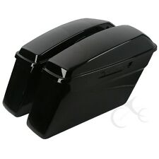 Hard Saddlebags Saddle Bag For Harley Touring Road King Street Glide Electra 14