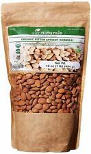 Bitter Apricot Kernels 1LB-100% USDA Certified Organic Bitter Apricot Seeds Free