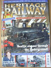 HERITAGE RAILWAY THE COMPLETE STEAM NEWS MAGAZINE ISSUE 161 MARCH 15 2012
