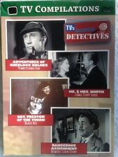 TV Compilations: TV's Greatest Detectives 4 Full-Length Television Classics