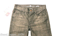BNWT SEVEN 7 FOR ALL MANKIND SOPHIE JEANS SZ 29 TAPERED LEG 100% AUTHENTIC