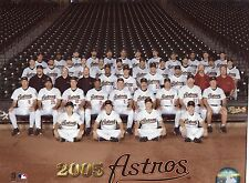 "2005 Houston Astros Team 8"" x 10"" Photo - National League Champions"