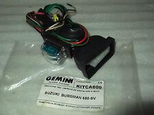 CABLAGGIO ANTIFURTO MOTO GEMINI MODELLO POWER PLUS 7354 PER SUZUKI BURGMAN 650 -