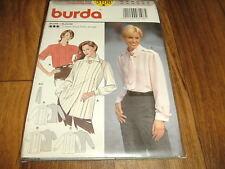 BURDA Schnittmuster 3108                3x  BLUSE im 1960er Stil           36-46