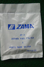 GENUINE ZAMA ZF-2 IN TANK FUEL FILTER FOR MANY HAND HELD POWER EQUIPMENT