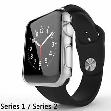 Apple iWatch 42mm Hart Silikon Schutzhülle Case Hülle Cover Bumper Transparent