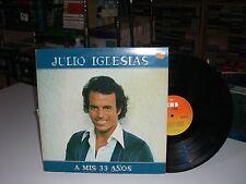 33 TOURS / LP--JULIO IGLESIAS--A MIS 33 ANOS----1978