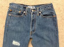 NEW RE/DONE Levis $290 High Rise Skinny Crop*Destructed*Size 24