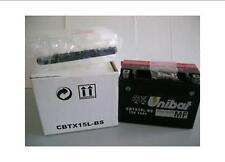 CBTX15L-BS BATTERIA MOTO UNIBAT 13AH 230A YUASA YTX15L-BS *Spedizione Inclusa!*
